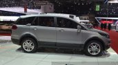 Tata Hexa side at the 2015 Geneva Motor Show