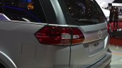 Tata Hexa taillight at the 2015 Geneva Motor Show