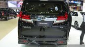 Toyota Alphard rear at the 2015 Bangkok Motor Show