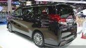 Toyota Alphard rear three quarter left at the 2015 Bangkok Motor Show