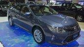 Toyota Camry Hybrid front three quarter at the 2015 Bangkok Motor Show