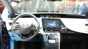 Toyota Mirai dashboard at the 2015 Geneva Motor Show