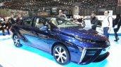 Toyota Mirai front three quarters at the 2015 Geneva Motor Show