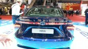Toyota Mirai rear at the 2015 Geneva Motor Show