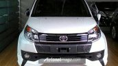 Toyota Rush facelift front Indonesia specification