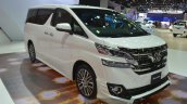 Toyota Vellfire front three quarter at the 2015 Bangkok Motor Show