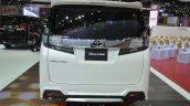 Toyota Vellfire rear at the 2015 Bangkok Motor Show