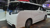 Toyota Vellfire rear three quarter at the 2015 Bangkok Motor Show