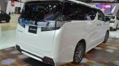 Toyota Vellfire rear three quarter view at the 2015 Bangkok Motor Show