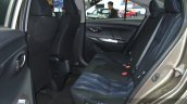 Toyota Vios rear seat at the 2015 Bangkok Motor Show