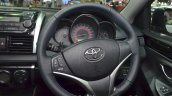 Toyota Vios steering wheel at the 2015 Bangkok Motor Show