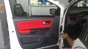 VW Fox Pepper door trim spied