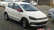 VW Fox Pepper front quarter spied