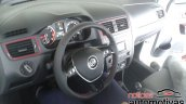 VW Fox Pepper interior spied