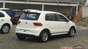 VW Fox Pepper rear quarter spied