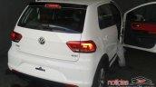 VW Fox Pepper rear spied