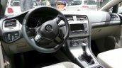 VW Golf TSI BlueMotion dashboard at the 2015 Geneva Motor Show