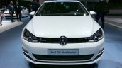 VW Golf TSI BlueMotion front at the 2015 Geneva Motor Show