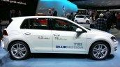 VW Golf TSI BlueMotion side at the 2015 Geneva Motor Show