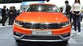 VW Passat Alltrack front at the 2015 Geneva Motor Show