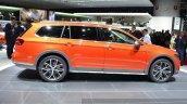 VW Passat Alltrack side at the 2015 Geneva Motor Show