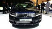 VW Phaeton Exclusive Edition front at 2015 Geneva Motor Show