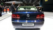 VW Phaeton Exclusive Edition rear at 2015 Geneva Motor Show