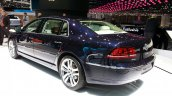VW Phaeton Exclusive Edition rear quarter at 2015 Geneva Motor Show