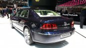 VW Phaeton Exclusive Edition rear quarters at 2015 Geneva Motor Show