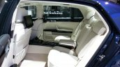 VW Phaeton Exclusive Edition rear seat at 2015 Geneva Motor Show