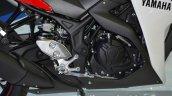 Yamaha YZF-R3 engine at 2015 Bangkok Motor Show