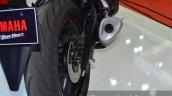 Yamaha YZF-R3 exhaust at 2015 Bangkok Motor Show