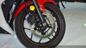 Yamaha YZF-R3 front disc at 2015 Bangkok Motor Show