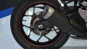 Yamaha YZF-R3 rear disc at 2015 Bangkok Motor Show