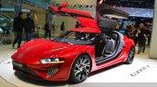 nanoFlowcell QUANT F doors open at the 2015 Geneva Motor Show