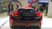 nanoFlowcell QUANT F rear at the 2015 Geneva Motor Show