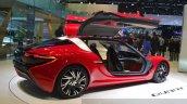 nanoFlowcell QUANT F rear three quarters at the 2015 Geneva Motor Show
