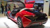 nanoFlowcell QUANT F rear three quarters left at the 2015 Geneva Motor Show