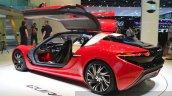 nanoFlowcell QUANT F rear three quarters left view at the 2015 Geneva Motor Show