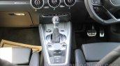 2015 Audi TT center console India launch
