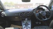 2015 Audi TT dashboard India launch