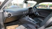 2015 Audi TT front seat India launch