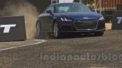 2015 Audi TT on a track India launch