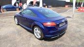 2015 Audi TT rear quarters India launch