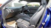 2015 Audi TT seat adjuster India launch