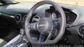 2015 Audi TT steering India launch