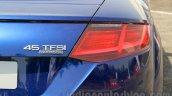 2015 Audi TT taillight India launch