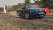 2015 Audi TT tracking shot India launch