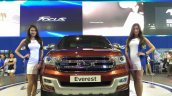 2015 Ford Endeavour 2015 Ford Everest front at the Manila International Auto Show