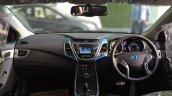 2015 Hyundai Elantra dashboard for India
